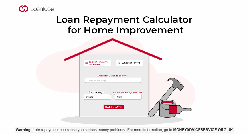 Loan Repayment Calculator | UK | LoanTube