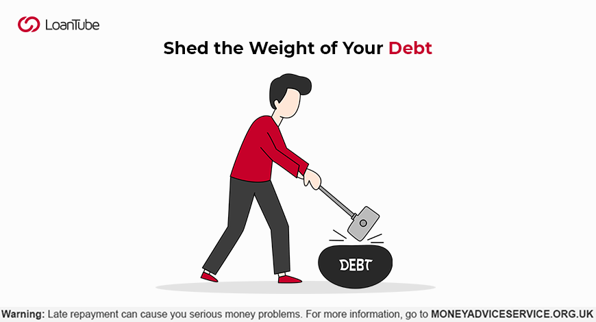 Achieve your debt pay-off resolution